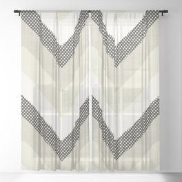 Willow in Cream Sheer Curtain