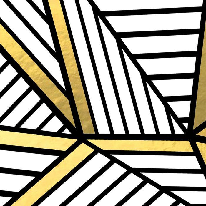 Ab Lines 2 White Gold Leggings