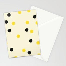 Bee Polka Stationery Cards