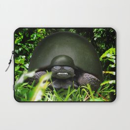 Slow Commando - Army Turtle Laptop Sleeve