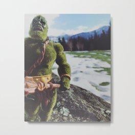 Moss Man at Washington State Metal Print