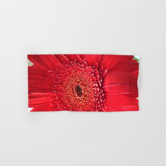 Red Dahlia Hand & Bath Towel