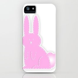 Bunny Time iPhone Case