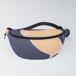Abstraction_Organic_Shape_Minimalism_001 Fanny Pack
