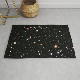 eXtreme Deep Field, Galaxy Background, Universe Large Print, Space Wall Art Decor, Deep Space Poster Rug