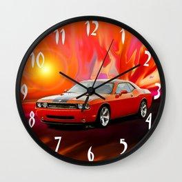 Challenger SRT Wall Clock