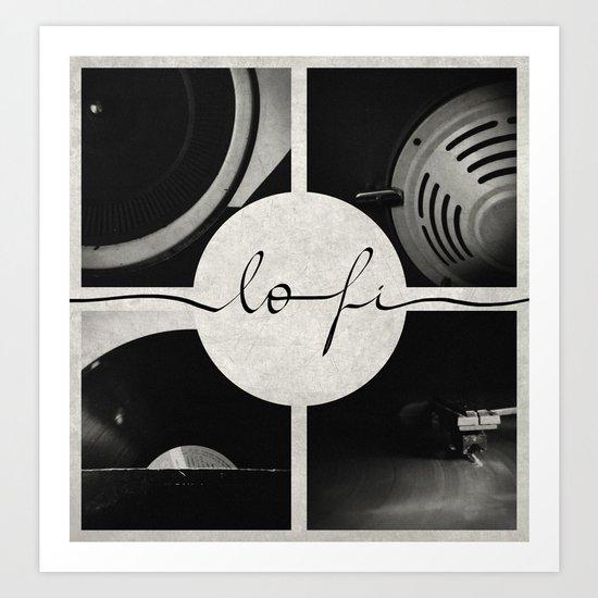 Lo-Fi // Analog Zine Art Print