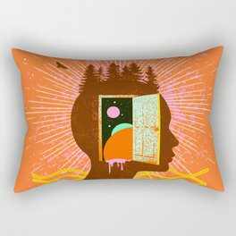 THOUGHT FREQUENCY Rectangular Pillow