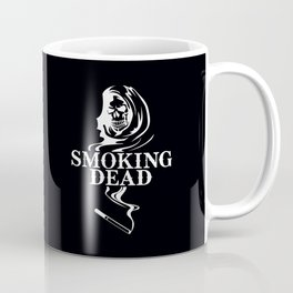 WHITE SMOKING DEAD Coffee Mug