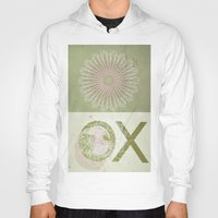 morocco Hoodies featuring Morocco OX Green by ZenzPhotography
