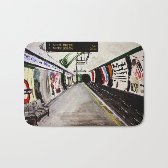 London Underground Goodge Street Bath Mat