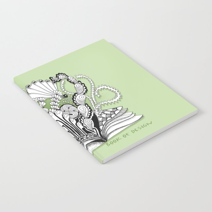 Book of Design - Zentangle Illustration for Children Notebook