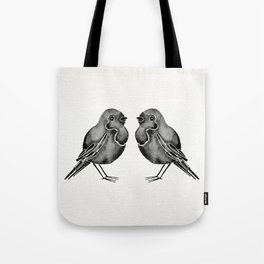 Little Blackbirds Tote Bag