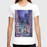 gotham T-shirts featuring Gotham by Robin Curtiss