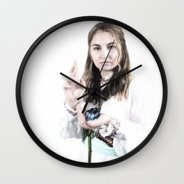 Aasimar Cleric of Enlil - Cosplay Wall Clock