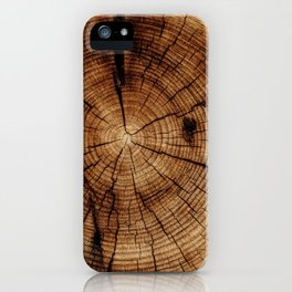 WOOD 8 iPhone Case