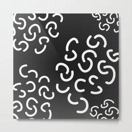 Curly Fries Metal Print