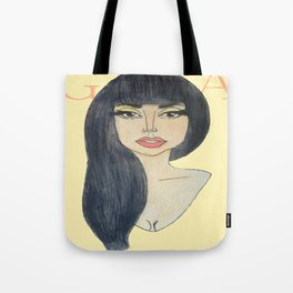 'Inez Doppelgänger' Tote Bag
