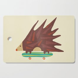 Hedgehog in hair raising speed Cutting Board