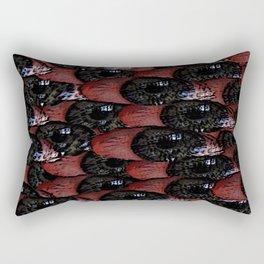 Bloodshot Tears Rectangular Pillow