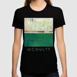 Limerick Irish Ireland Abstract Green Modern Art Landscape T-shirt