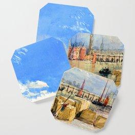 David Cox London Bridge Coaster