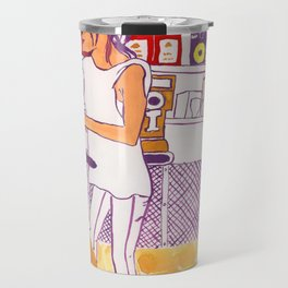 Barista Girl Travel Mug