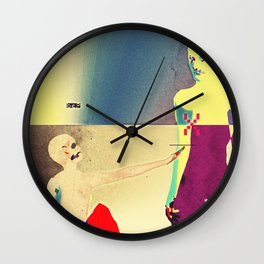 Christ Reveals Himself to Magdalene Wall Clock