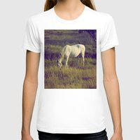 horses T-shirts featuring Horses by Pedro Antunes