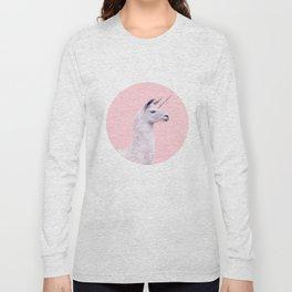 UNICORN LAMA Long Sleeve T-shirt