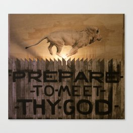 Book of Amos Canvas Print