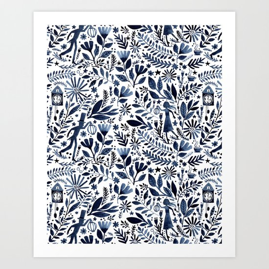 Moonglow Mystery Art Print