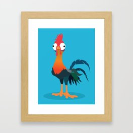 Hei Hei from Moana Framed Art Print