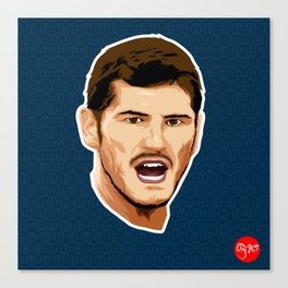 Iker Casillas Canvas Print