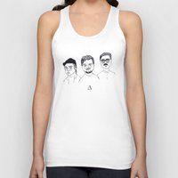 cactei Tank Tops featuring ∆∆∆ by ☿ cactei ☿
