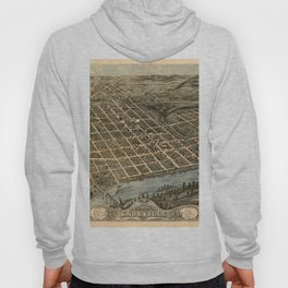 Map Of Knoxville 1871 Hoody