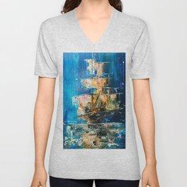 Sea ghost Unisex V-Neck