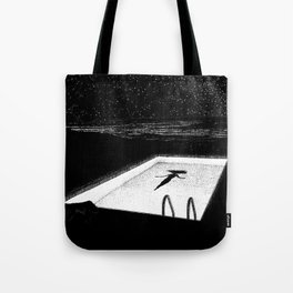 asc 593 - Le silence des cigales (The midnight lights) Tote Bag