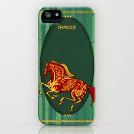 Year of the Horse iPhone Case