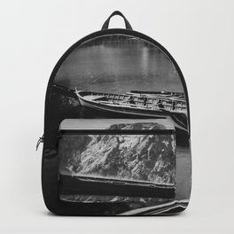 Through the Window (Black and White) Backpack