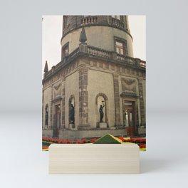 Rooftop Statue Garden Chapultepec Castle CDMX 35mm Film Mini Art Print
