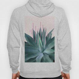 Agave geometrics II - pink Hoody