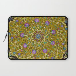 Gold Swirl Laptop Sleeve