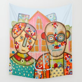 The American Gothic Wall Tapestry