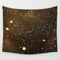 interstellar Wall Tapestries featuring interstellar by D /graphic design & illustration/