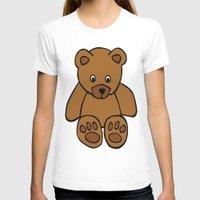 teddy bear T-shirts featuring Teddy Bear by ArtSchool