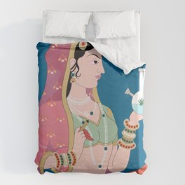 Stoner Queen Duvet Cover