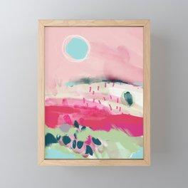 spring dream landscape Framed Mini Art Print