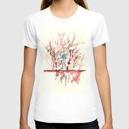 Expand! No limites entre Infrarrojo y Ultravioleta T-shirt