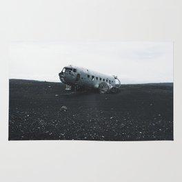 DC-3 Wreck I Rug